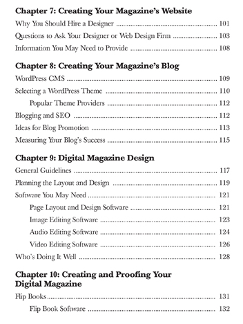 Table of Contents - Page 4